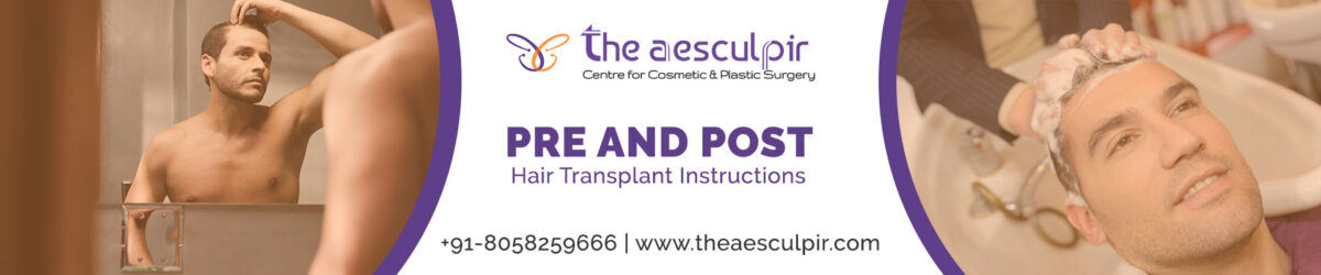 hair transplant instructions